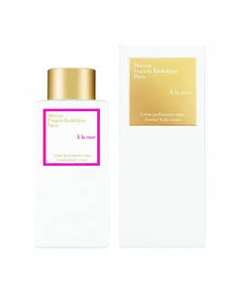 A LA ROSE SCENTED BODY CREAM 250ML